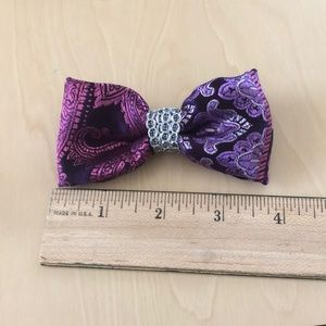 Purple and Pink Metallic Hairbow